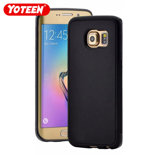Yoteen For Samsung Galaxy S6 Edge Plus Anti Gravity Phone Case Nano Adsorption Magic Back Cover Hands Free For S9 Plus