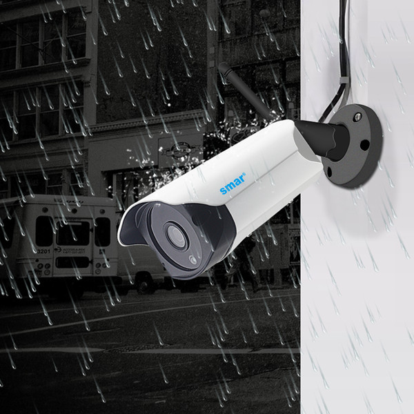 Surveillance IP Smar Wifi Outdoor IP 1080P 720P Waterproof 2.0/1.0MP Wireless Security Camera Two Way Audio TF Card Record