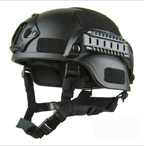 top popular 4 colors free size ABS Tactical helmets Field CS riding helmet camping soldier equipment Equipment free shipping 2021