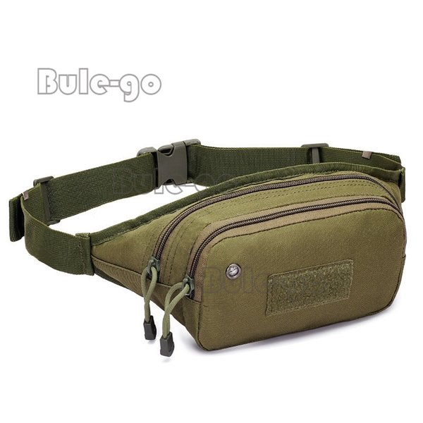 Outdoor Military Tactical Waist Pack Shoulder Bag Multi-pocket Molle Camping Hiking Pouch Belt Wallet Pouch Waist Bag #359533