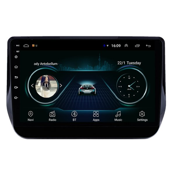 Android car mp3 mp4 player HD 1080 beautiful wallpaper front camera GPS navigatio fast delivery for Hyundai grand starex 2017-2019 9inch