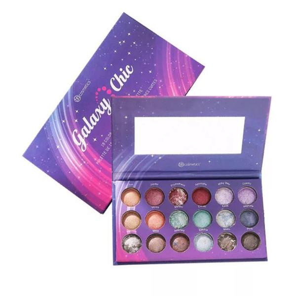 Fashion Lidschatten-Palette 18 Color Matte Lidschatten Naked Palette Glitter Lidschatten MakeUp Set Kosmetik Schnelle Lieferung Neu