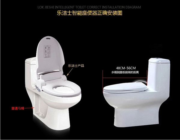 Superb 2018 Smart Heated Toilet Seat Hinge Wc Sitz Intelligent Automatic Toilet Lid Cover Multifunal Washlet Elongated Electric Bidet Cover From Lamtechconsult Wood Chair Design Ideas Lamtechconsultcom