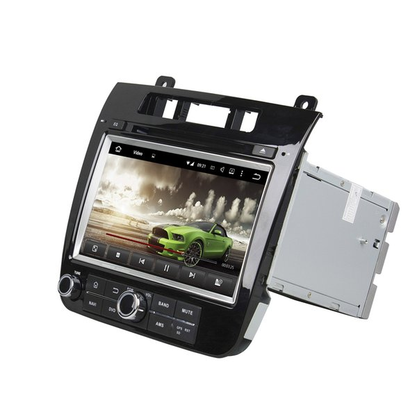 """Octa Core 2 din 8"""" Android 8.0 Car DVD Player for VW Volkswagen Touareg 2010 20111 2012 2013 2014 RDS Radio GPS WIFI Bluetooth 4GB+32GB"""