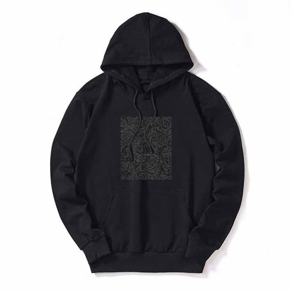 Tasarımcı Hoodies Erkek Lüks Tişörtü Erkekler için Hoodies Streerwear Marka Kazaklar Uzun Kollu 5 Renk Seçeneği Hoodie En Son Derece ...