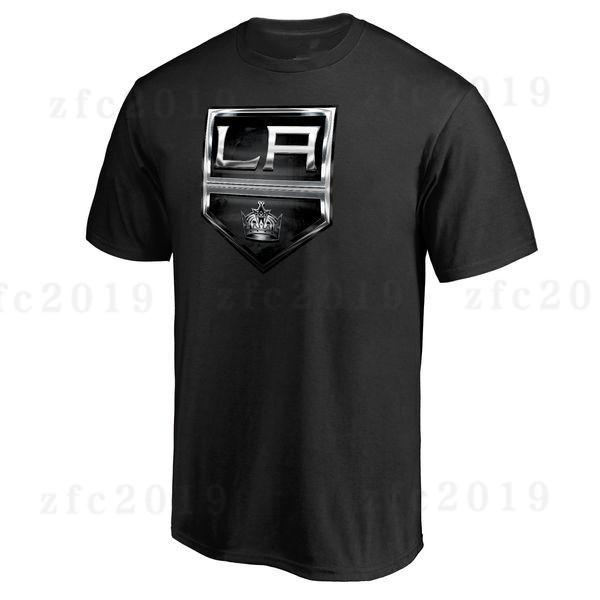 Branded Men's Los Angeles Kings New T-Shirt Sport outdoor Short sleeve Free Shipping Black Gray 2019 Fans Tees shirts printed Logos