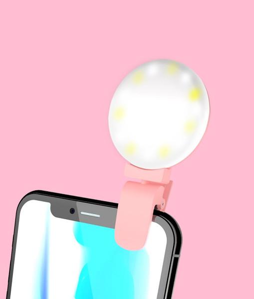 New flash mobile phone fill light photography light photo artifact LED beauty self-timer light dhl free