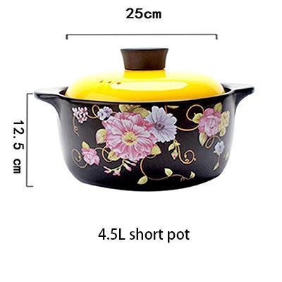 4.5L kurzer Suppentopf