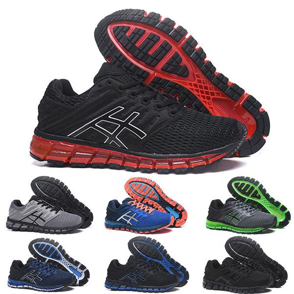 rendimiento confiable última tecnología buena venta Gel Asics Gel Diseñador De Lujo 2019 Gel Quantum 360 II Rojo Triple Negro  Gris Raza Azul Cojines Hombre Zapatos Para Correr 360 2 2s Zapatillas De ...