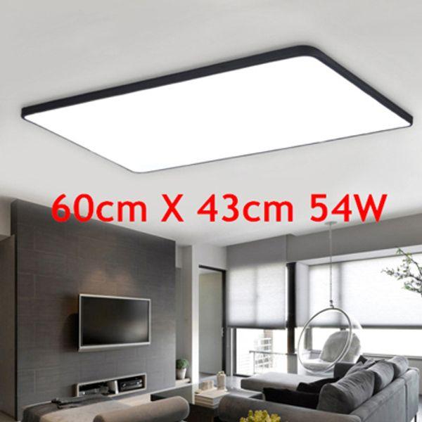 Großhandel Ultradünne LED Quadratische Deckenbeleuchtung Panel Lampe  Beleuchtung Für Das Wohnzimmer Decke Für Die Halle Moderne Deckenleuchte  Hoch Von ...