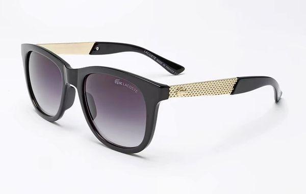 Quality 2019Fashion Designer Sunglasses Classic Retro Pilot Frame Glass Lens UV400 Protection Eyewear With Leather Case Des Lunettes De Sole