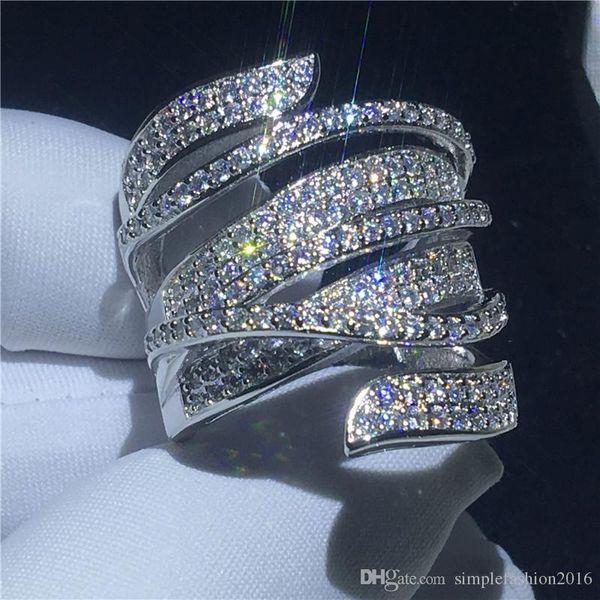 Plata Esterlina 925 Para Mujer Para Hombre 4mm D forma anillo de bodas de todos los tamaños