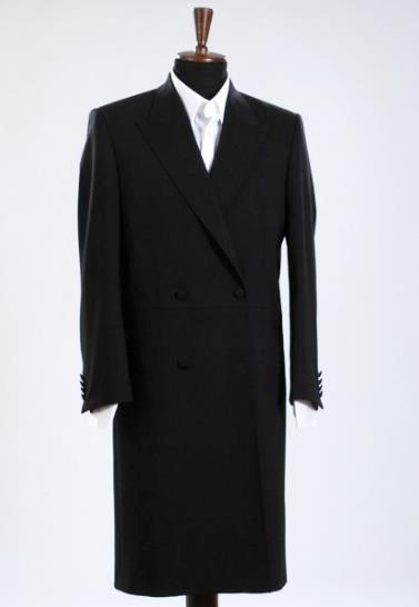 Casual Tailor Made Black Long Mens Coat Party Wedding Custom Made Tuxedos Terno Masculino Fashion Style Men Jacket Only