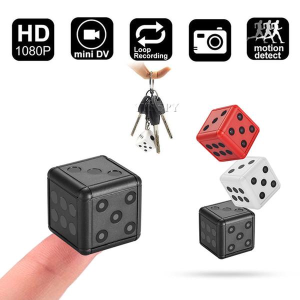 SQ16 Mini Kamera HD Güvenlik Zar Sensörü Gece Görüş Kamera Mikro Video Kamera DVR Hareket Kaydedici Kamera Desteği TF Kart Kameralar