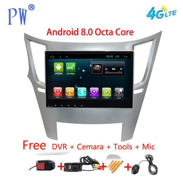 Android 7.1 Car Navi GPS Radio Legacy Outback stéréo voiture automatique Lecteur vidéo multimédia à écran tactile Unité principale Navi
