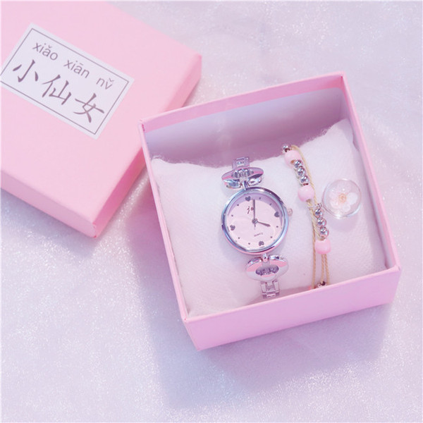 Nova Marca de Luxo Analógico Casual Venda Quente Assista Cor Prata Pulseira Relógios de Pulso Senhoras Se Vestem Das Mulheres Estilo de Moda Relógios de Negócios