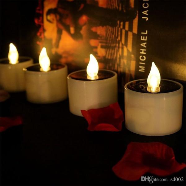 LED Eletrônico Vela Luz De Natal Velas Romântico Quente Branco Flash de Casamento Casa Decorar Suprimentos de Aniversário Pequenos Presentes 1 33lgC1