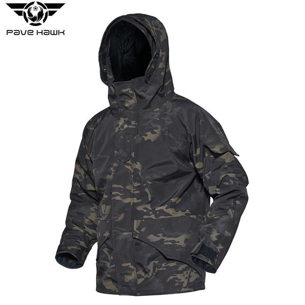 Men Jackets Hat Detachable Multi-purpose Pockets G8 Camouflage Coats Warm Fleece Anti-scratch Tactical Trench Coat