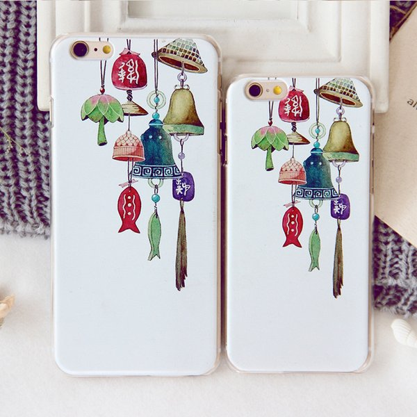 Comic wind chime painted mobile phone shell a generation for iphone XS MAX custom mobile phone shell max
