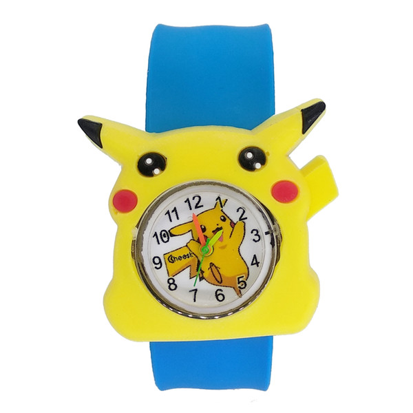 best selling Colorful cute Kids Slap Watches Children Cartoon Watch Silicone Wristwatch for boys girls Baby Christmas Gift Kid Clock