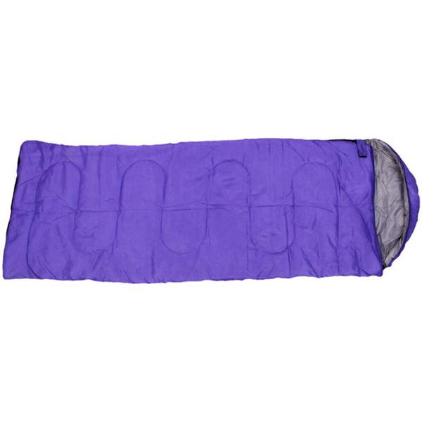 TOP! -Adultivo individual de camping impermeable traje caso sobre saco de dormir púrpura