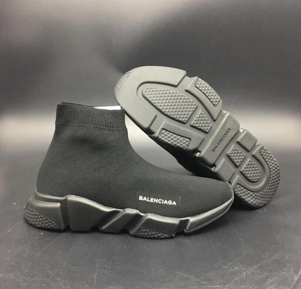 !!! Новый 2018 2019 Высокое Качество Скорости Тренер Дизайнер Обувь Модный Бренд Носок