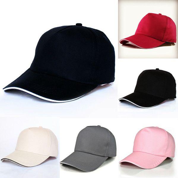 New Adjustable Fashion Men Women Baseball Cap Snapback Hat Hip-Hop Bboy Caps