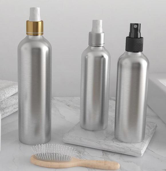 Spray Botella de perfume Viaje Recargable Envase cosmético Vacío Botella de perfume Atomizador Botellas de aluminio portátiles Botellas de maquillaje