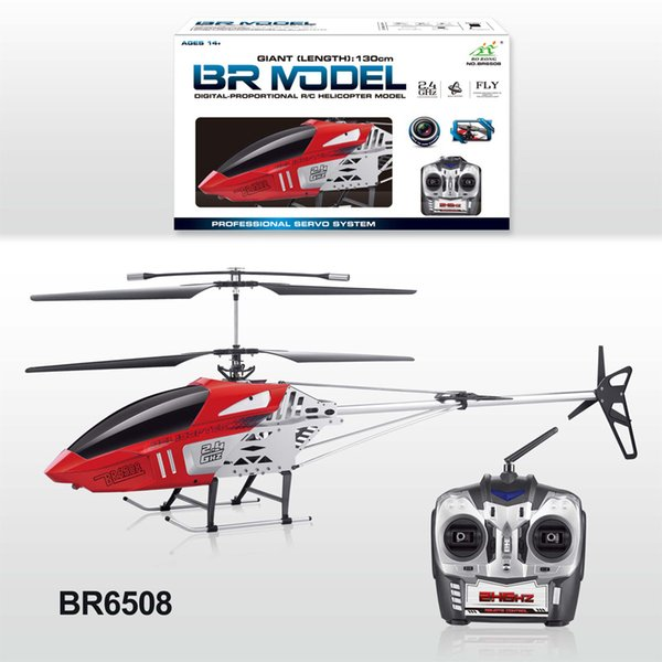 130CM big large rc helicopter 2.4G 3.5CH Super Large Metal RC Helicopter can with camera kids child best gifts toy play