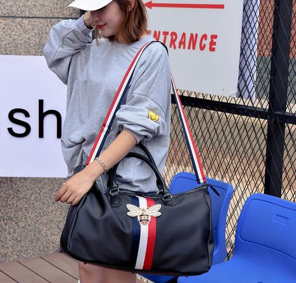 2019 mulheres novas dos homens da forma viajam o saco de duffle do saco, saco do esporte da capacidade grande do desenhador da marca
