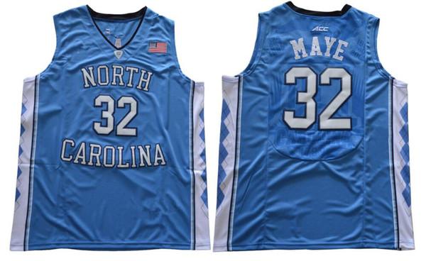 32 Luke Maye Blue
