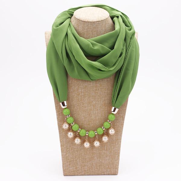 2019 New design Fashion pendant scarves tassel beads scarf women Scarves head scarf Pendant free shipping