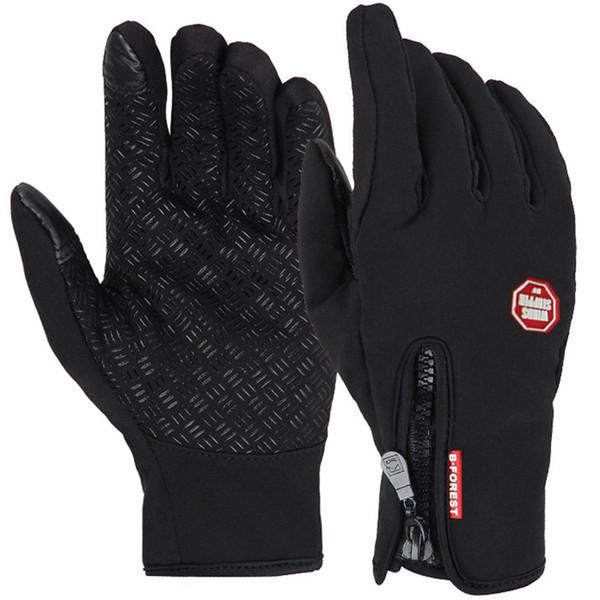Unisex Touchscreen Winter Thermal Warm Radfahren Fahrrad Fahrrad Outdoor Camping Wandern Motorrad Handschuhe Sport Vollfinger