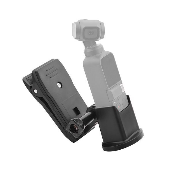 Genişleme Baz Adaptörü Tutucu Braketi Dağı Sırt Çantası Klip DJI OSMO Cep El Gimbal Kamera Sabitleyici için Kelepçe Kiti