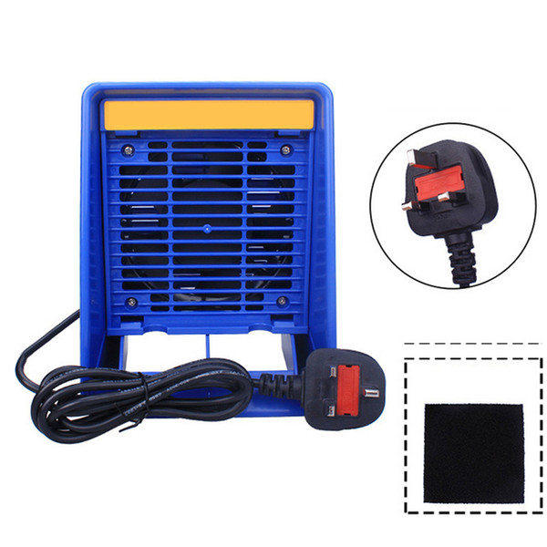 top popular Solder Smoke Absorber Remover Fume Extractor Air Filter Fan for Industury Removes Soldering Smoke Fume in Vertical Position 220V 2020