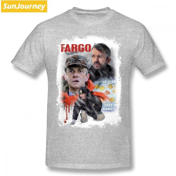 2019 Womens Luxury Designer T Shirts Fargo TV Show Men T Shirt Top Tv  Oversize Cotton Crewneck Short Sleeve Clothes For Men Purses Limited T  Shirts 24