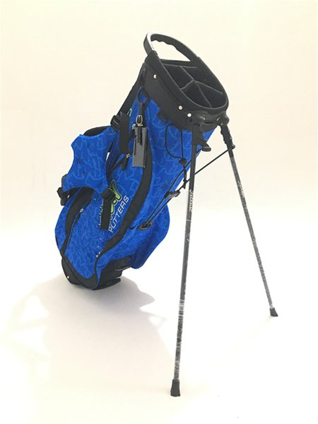 best selling 2019 New Released High Quality Custom Golf Carry Bag Wave Dog Golf Tour Stand BagFree EMS Shipping