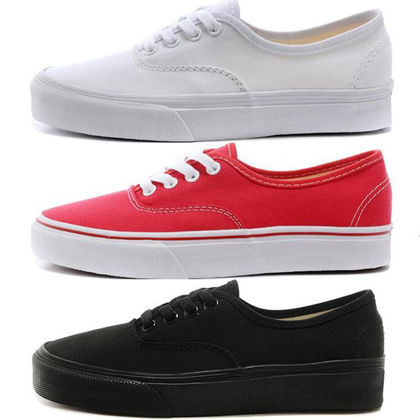 top popular Top Designer classic Men Women Canvas Sneakers All High and low red Black White MARSHMALLOW Skate Casual Shoes 2019