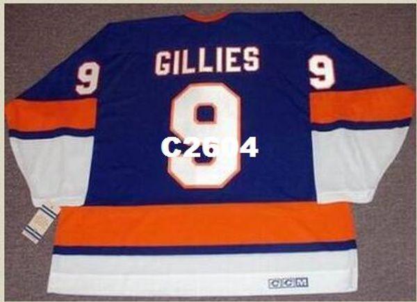 Hombres # 9 CLARK GILLIES New York Islanders