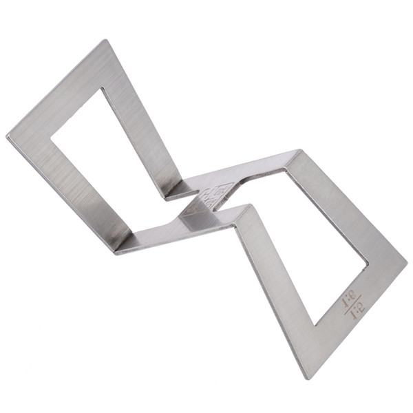1pc Stainless Steel Dovetail Marker Dovetail Guide Template 1:5-1:6 1:7-1:8 for Wood Joints Gauge Woodworking Measuring Tool