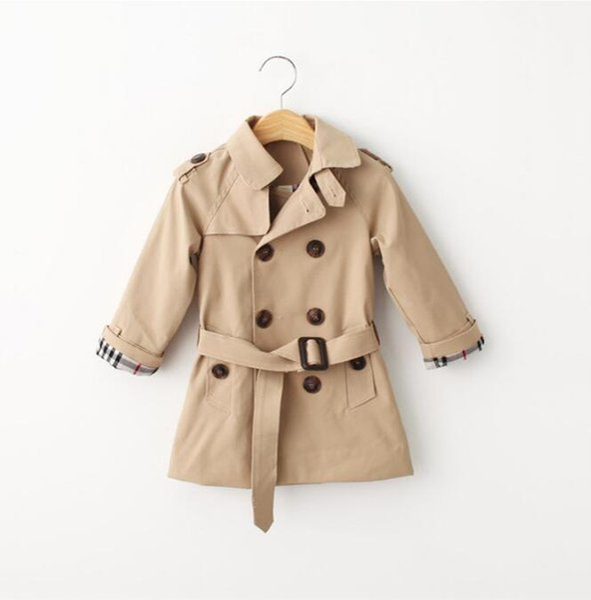 Çocuk Ceketleri 2019 Bahar Kız Ve Erkek Kruvaze Rüzgarlık Ceket Çocuklar Topoutwear Çocuklar Giyim 1-6Y