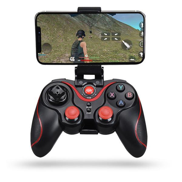Controller Bluetooth Joystick Gamepad senza fili per Android Smart Cell Phone per PC Laptop Gaming Remote Control con supporto mobile