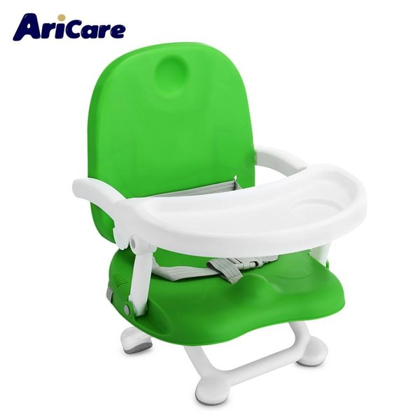 Großhandel Aricare Baby Sitzerhöhung Hochstuhl Faltbare Tragbare Abnehmbare Schale Kinder Booster Sicherheit Kinderstuhl Fütterung Sitz VB Von