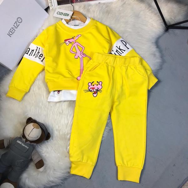 Three Piece Set Hoodies Stock Children's Garment Children Leisure Time Sweater Kids baby Clothing