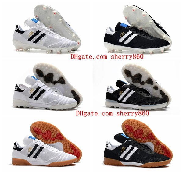 best selling 2019 mens soccer shoes Copa 70Y FG IN TF Turf soccer cleats world cup football boots IC indoor Copa Mundial boots scarpe da calcio