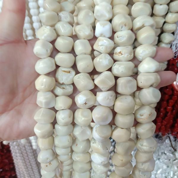 Natürliche Farbe Korallen Perlen Für Schmuck Machen Lose Ursprüngliche Farbe Korallen Perlen DIY Halskette Zubehör Perlengröße Über 13mm
