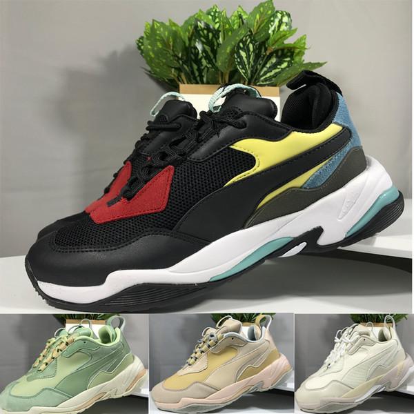 Brand New Pum Hommes Femmes Thunder Spectra OG Noir Rouge Blanc Chunky Cuir Running Papa Chaussures Sneakers