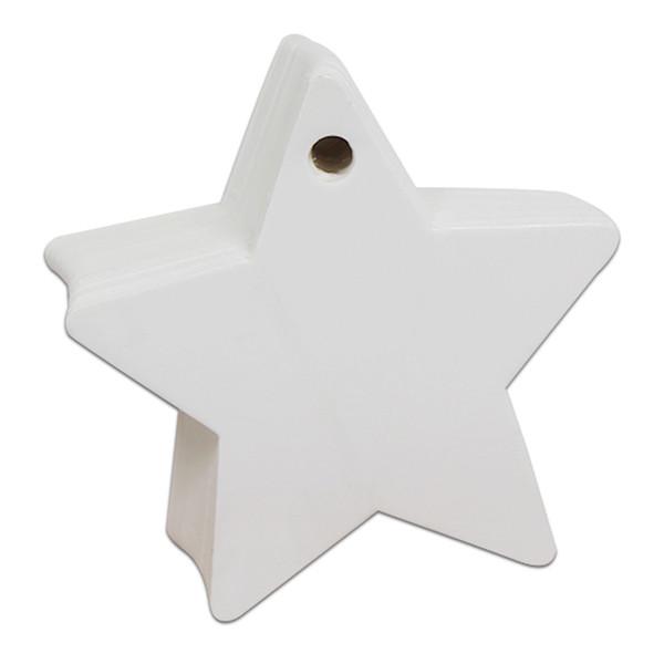 6x6cm Star White