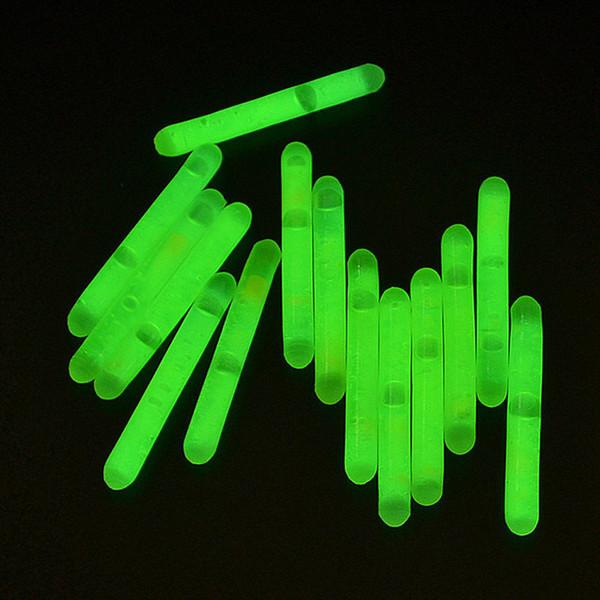 15pcs pêche lumière de pêche de nuit de flotteur grandissent le bâton léger nuit-lumineux imperméable à l'eau des outils portatifs