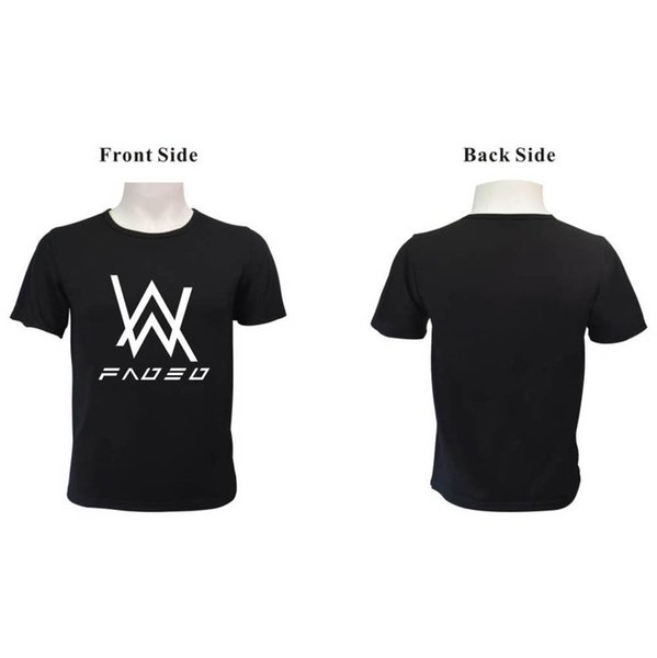 9c13ac3f6 Alan Walker Faded Music DJ Summer T-Shirt Men Women Short Sleeve Tee Tops  Men